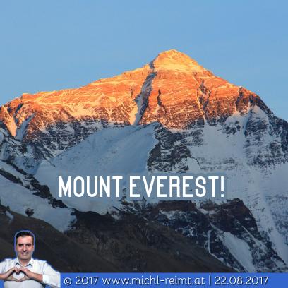 Gedicht: Mount Everest!