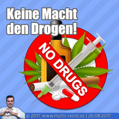 Gedicht: Keine Macht den Drogen!
