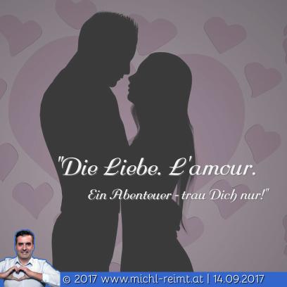 Gedicht: Die Liebe. L'amour❤️!