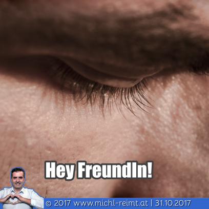 Gedicht: Hey Freundin!