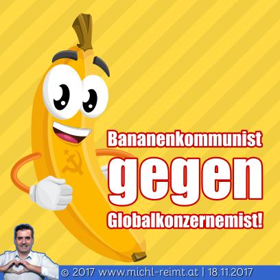 Gedicht: Bananenkommunist!