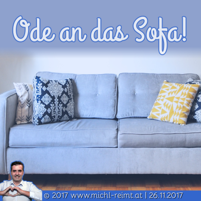 Gedicht: Ode an das Sofa!