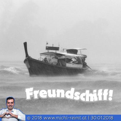Gedicht: Freundschiff!