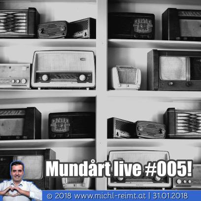 Gedicht: Mundårt live #005!