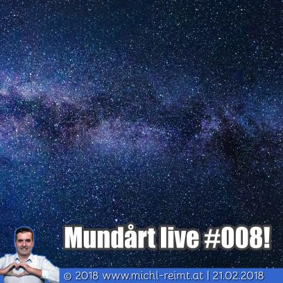 Gedicht: Mundårt live #008!