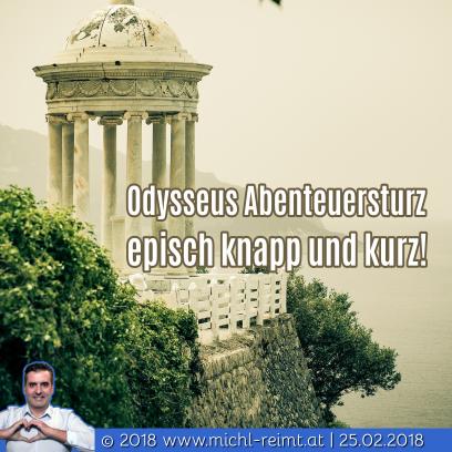 Gedicht: Odysseus Abenteuersturz!