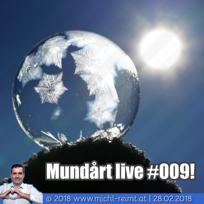 Gedicht: Mundårt live #009!