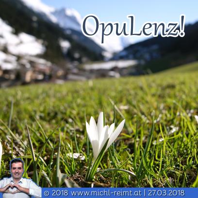 Gedicht: OpuLenz!