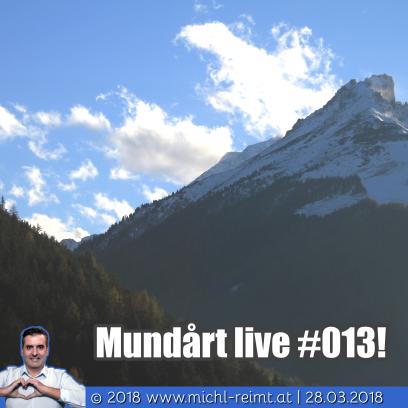 Gedicht: Mundårt live #013!