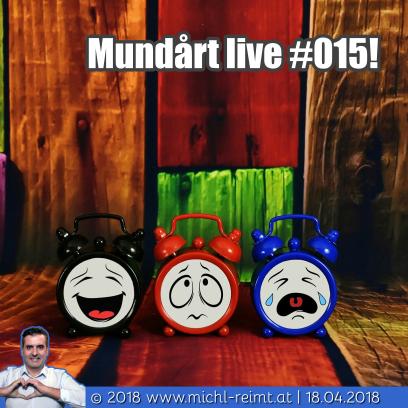 Gedicht: Mundårt live #015!