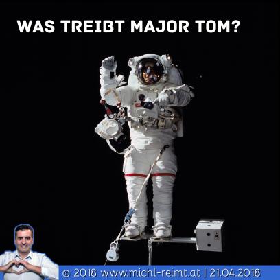 Gedicht: Major Tom?