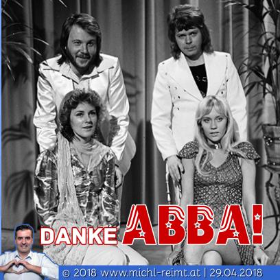 Gedicht: Danke ABBA!