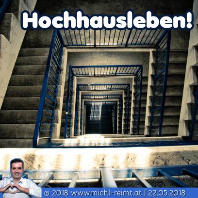 Gedicht: Hochhausleben!