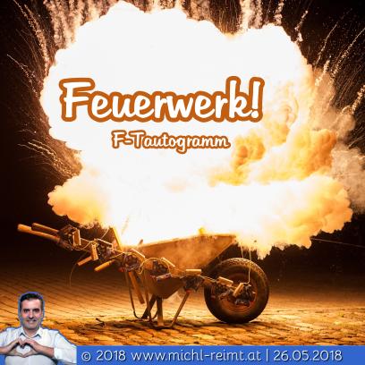 Tautogramm: Feuerwerk!