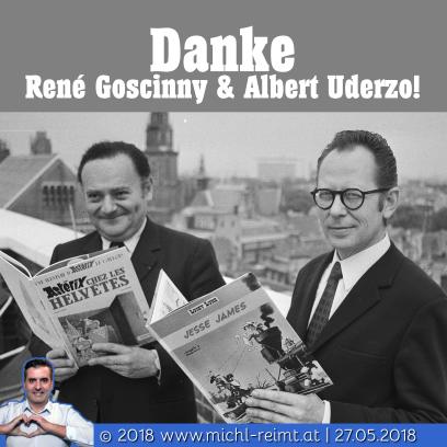 Gedicht: Danke René & Albert!