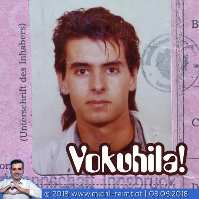 Gedicht: Vokuhila!