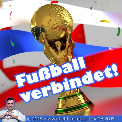 Gedicht: Fußball verbindet!